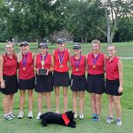 Girls Varsity Golf finishes 1st place at Lapel Invitational