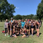 Girls Varsity Cross Country finishes 1st place at Elkhart Christian Hokum Karem