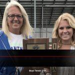 Coach Tif Schwartz earns 100th Boys Tennis Victory!