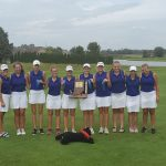Girls Varsity Golf finishes 1st place at the IHSAA Warsaw Sectional