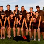 Girls Varsity Golf Qualifies for IHSAA State Finals, Cybil Stillson Medalist with 67!