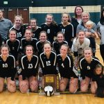 Varsity Volleyball beats West Noble 3-0 to Win Sectional Championship!