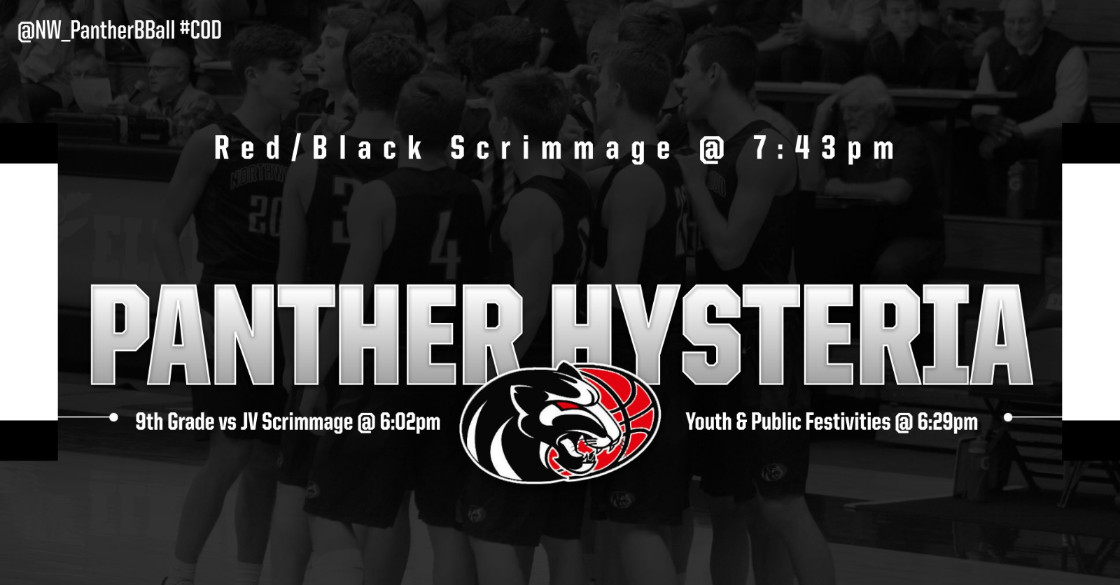 Panther Hysteria is Tonight!