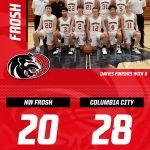 DELAYED POST: Boys Freshman Basketball falls to Columbia City 28 – 20