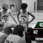 Boys Freshman Basketball beats Wawasee 47 – 43