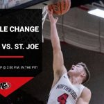 Game time changed for Boys BB vs. St. Joe