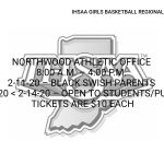 IHSAA Girls Basketball Regional Tickets on sale!