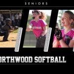 NorthWood Softball Seniors