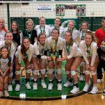 Girls Varsity Volleyball beats Wawasee 2 – 0 to Win Bremen Tourney