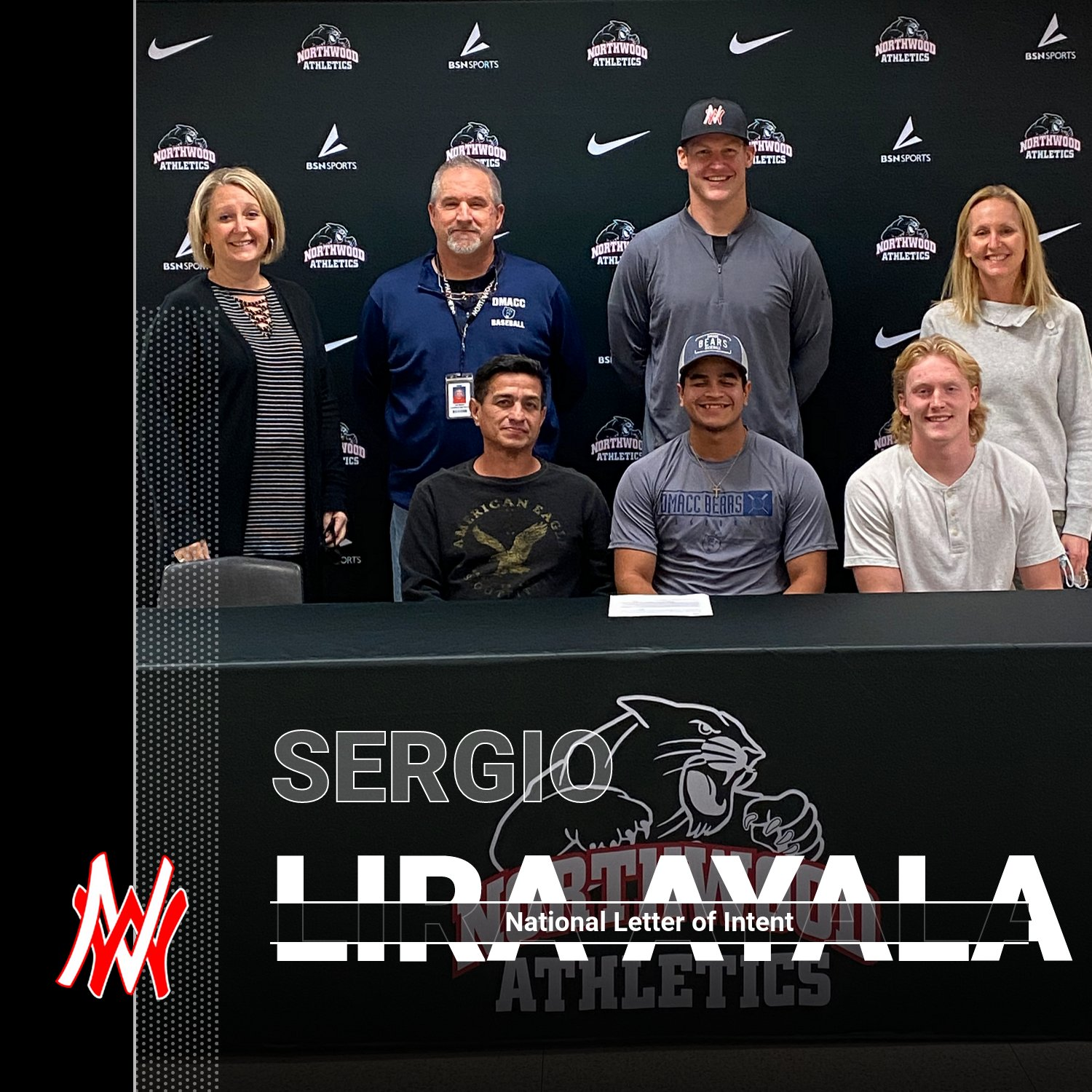 Sergio Lira Ayala Signs National Letter of Intent