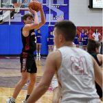 Boys Varsity Basketball falls to West Noble 54 – 50