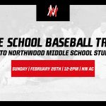 NW Baseball Middle School Tryouts