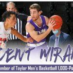 Panther Alum Vincent Miranda Scores 1,000 points for Taylor University