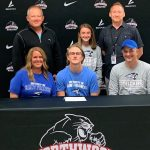 Kayden Newcomer signs with St. Francis University