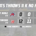NorthWood Panthers's Roberts Throws No-Hitter to Defeat West Noble