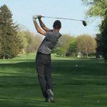 Jon Cripe Leads Boys Golf to Victory over Marian