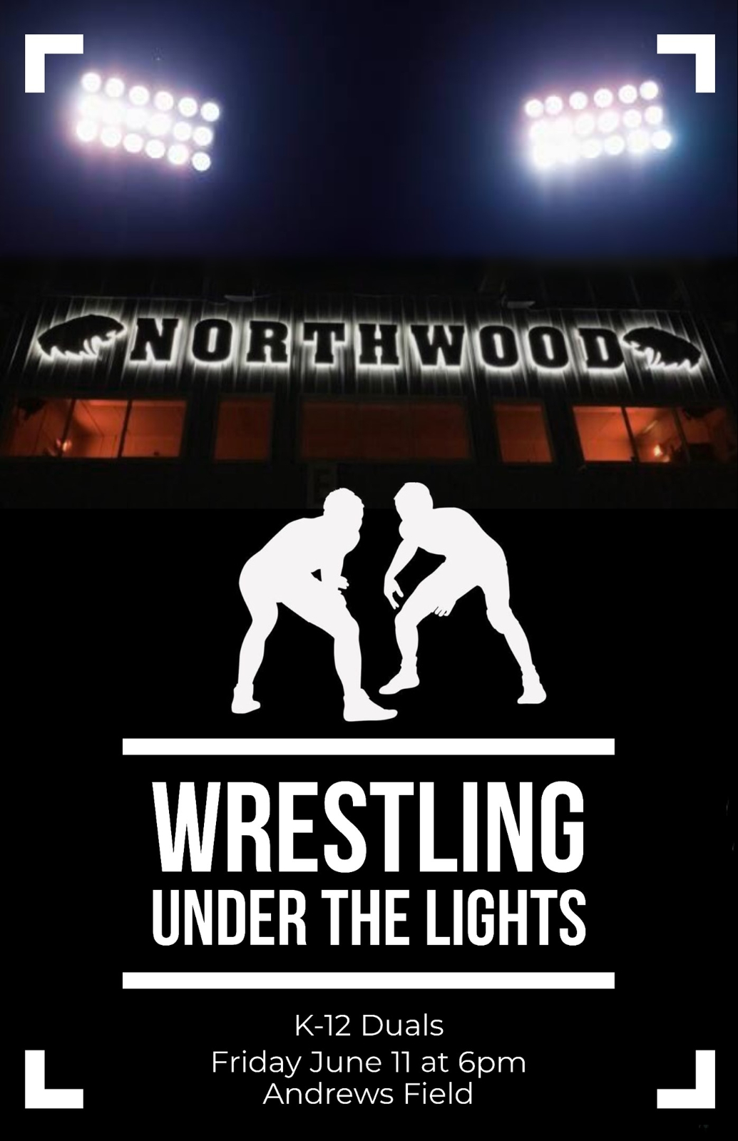 NorthWood Wrestling Under the Lights!