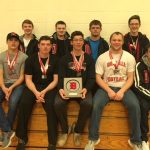 Orrville High School Boys Varsity Swimming finishes 2nd place