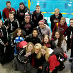 Boys Varsity Swimming finishes 5th place at (Cloverleaf Invitational)