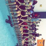 Girls Varsity Swimming finishes 8th place at (Sectionals)