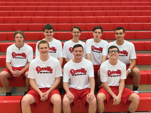 Orrville Tennis Drops 3-2 Match To Titans