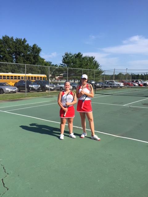 Orrville Lady Riders Tennis Team Blanks Alliance 5-0