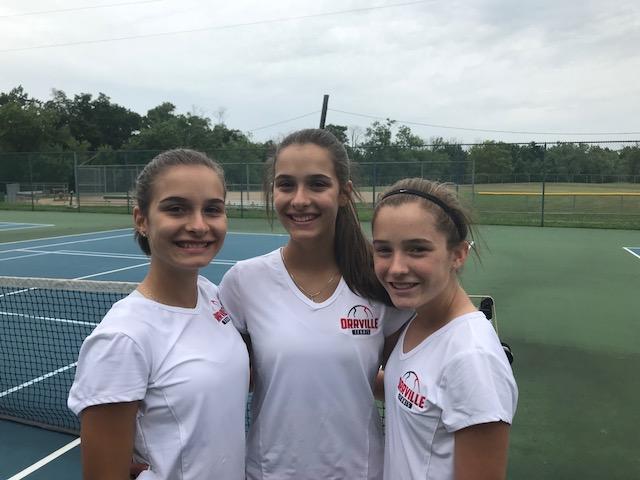 Orrville Girls Tennis Team Wins Invitational