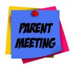 Winter Parent Meeting Info