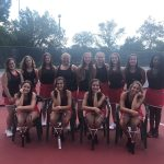 Lady Riders Tennis Team Finishes Regular Season 18 Wins and 1 Loss