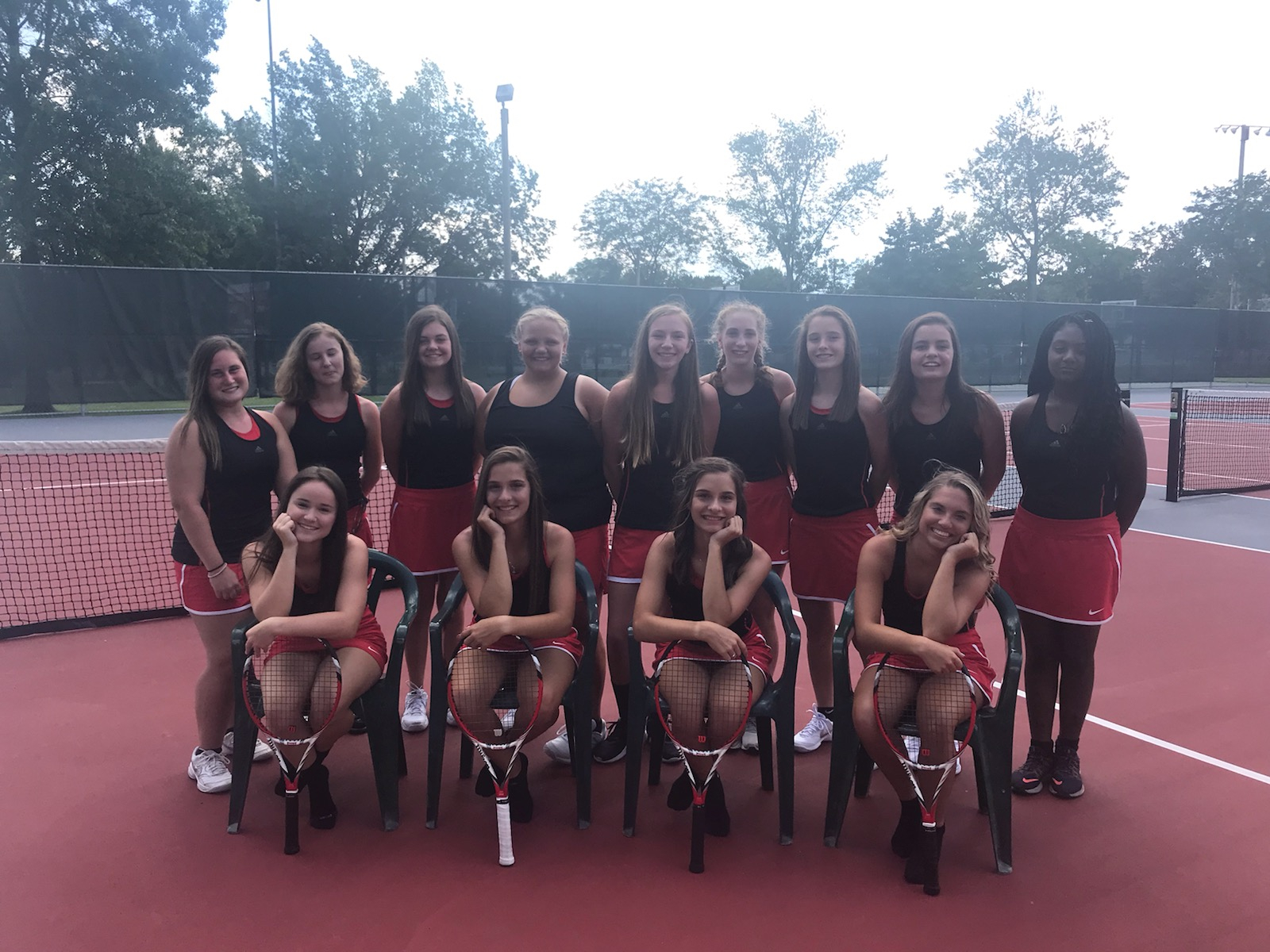 Lady Riders Tennis Clinch NET Conference Regular Season Title