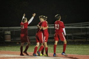 Boys Soccer vs Louisville – District Semifinal (10/22)