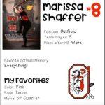 Softball Senior Spotlight – Marissa Shaffer