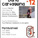 Softball Senior Spotlight – Dana Cartagena