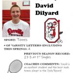 Tennis Senior Spotlight – David Dilyard
