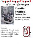 Boys Track and Field Senior Spotlight – C. Phillips