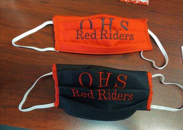 Cheerleaders Sell Masks!