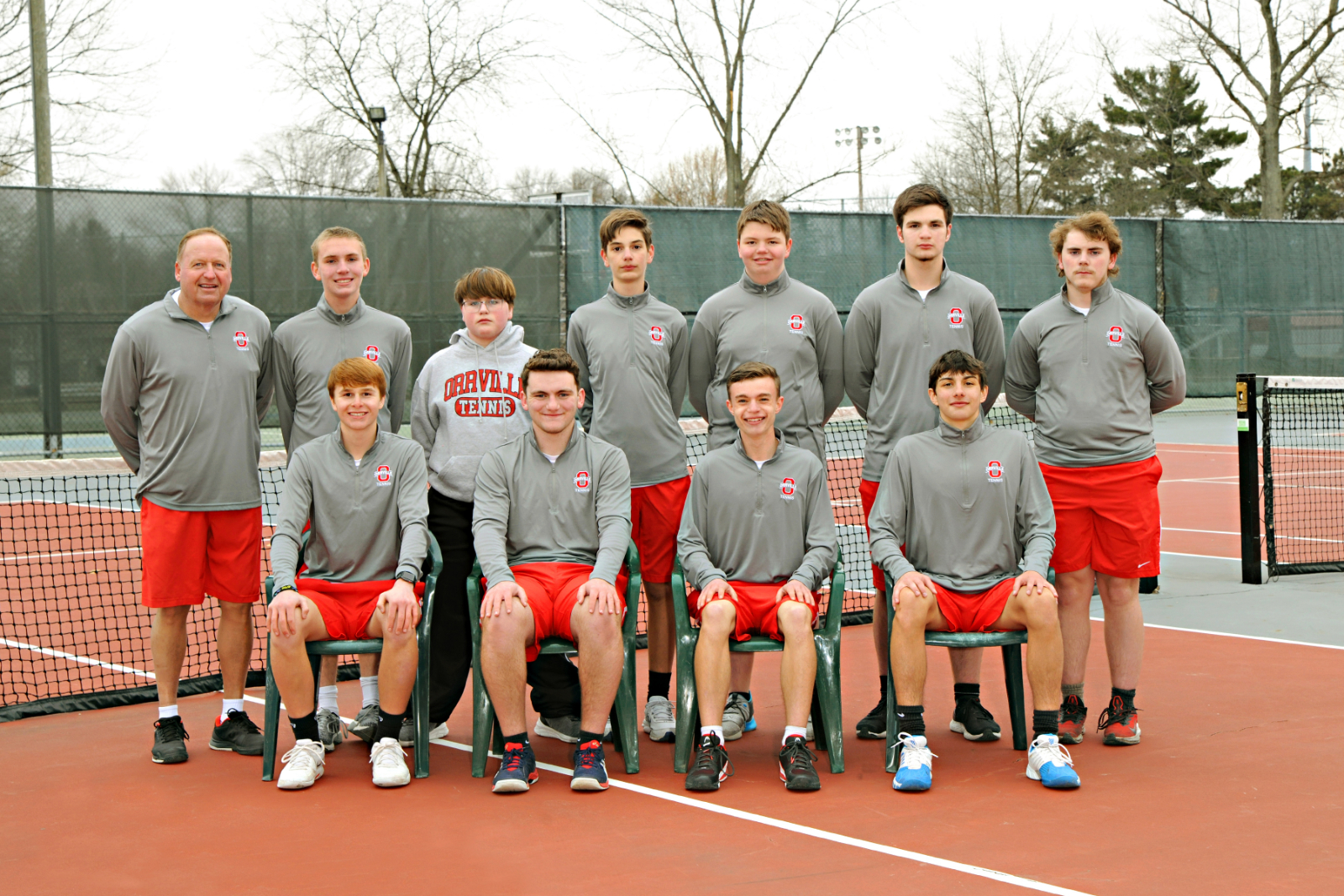 OHS Boy's Tennis Defeats Canton South 5-0