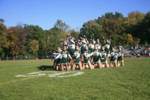Homecoming Cheerleaders 2017