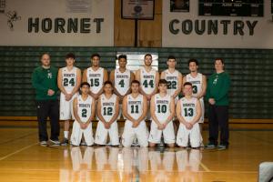 Boys Basketball Team 2017