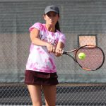 Girls Varsity Tennis ties Ayala, Ruben 9 – 9