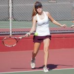 Girls Varsity Tennis finishes 1st place at Diamond Bar