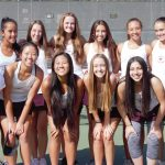 Girls Tennis advances to CIF quarterfinals with win over Serrano High School