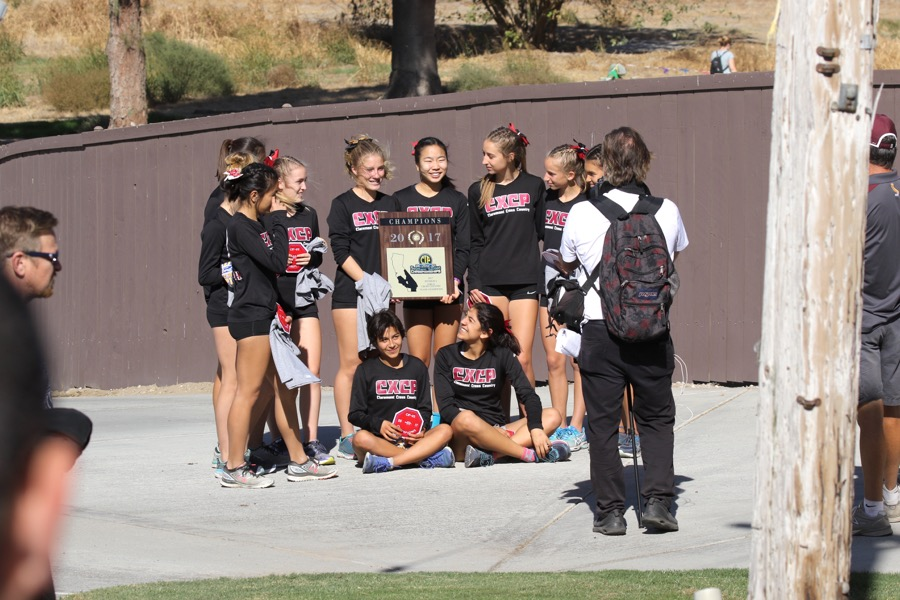 CIF Champions!! Girls Cross Country finishes 1st place at CIF Finals