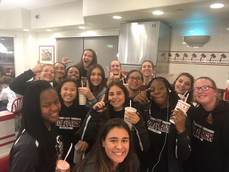 Girls Basketball advances to QuarterFinals !!!