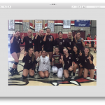 Girls JV Volleyball Wins Ayala Tournament!!