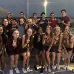 Girls Varsity Tennis Clinches Palomares League Title and finishes season 10-0