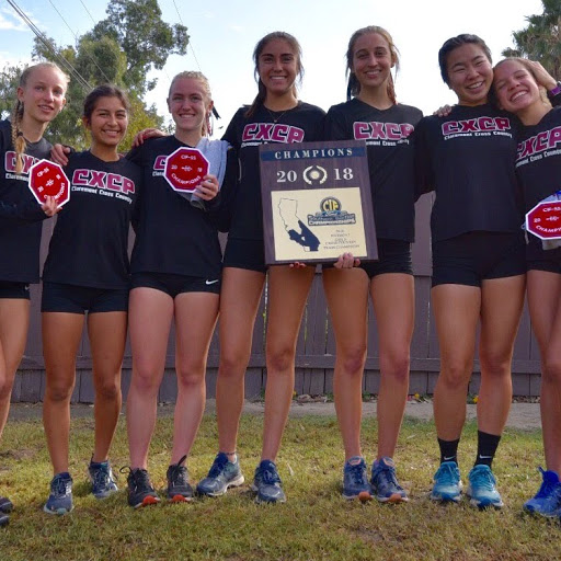 Girls Cross Country wins CIF Title – 3 Peat !!