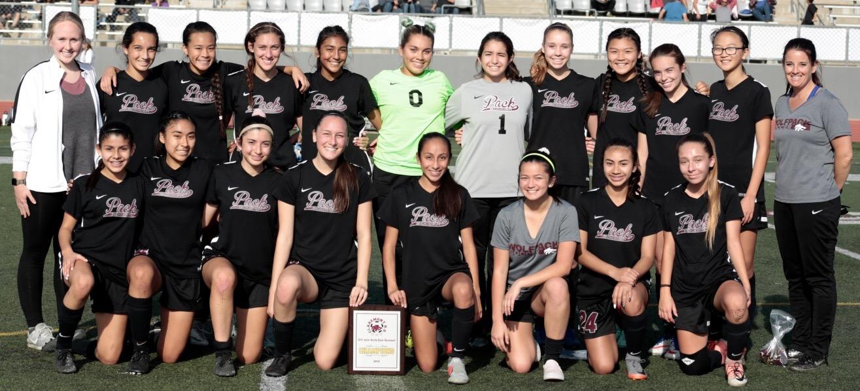 Girls JV Soccer Wins Tournament!!
