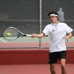 Boys Varsity Tennis Takes First Match with Colony