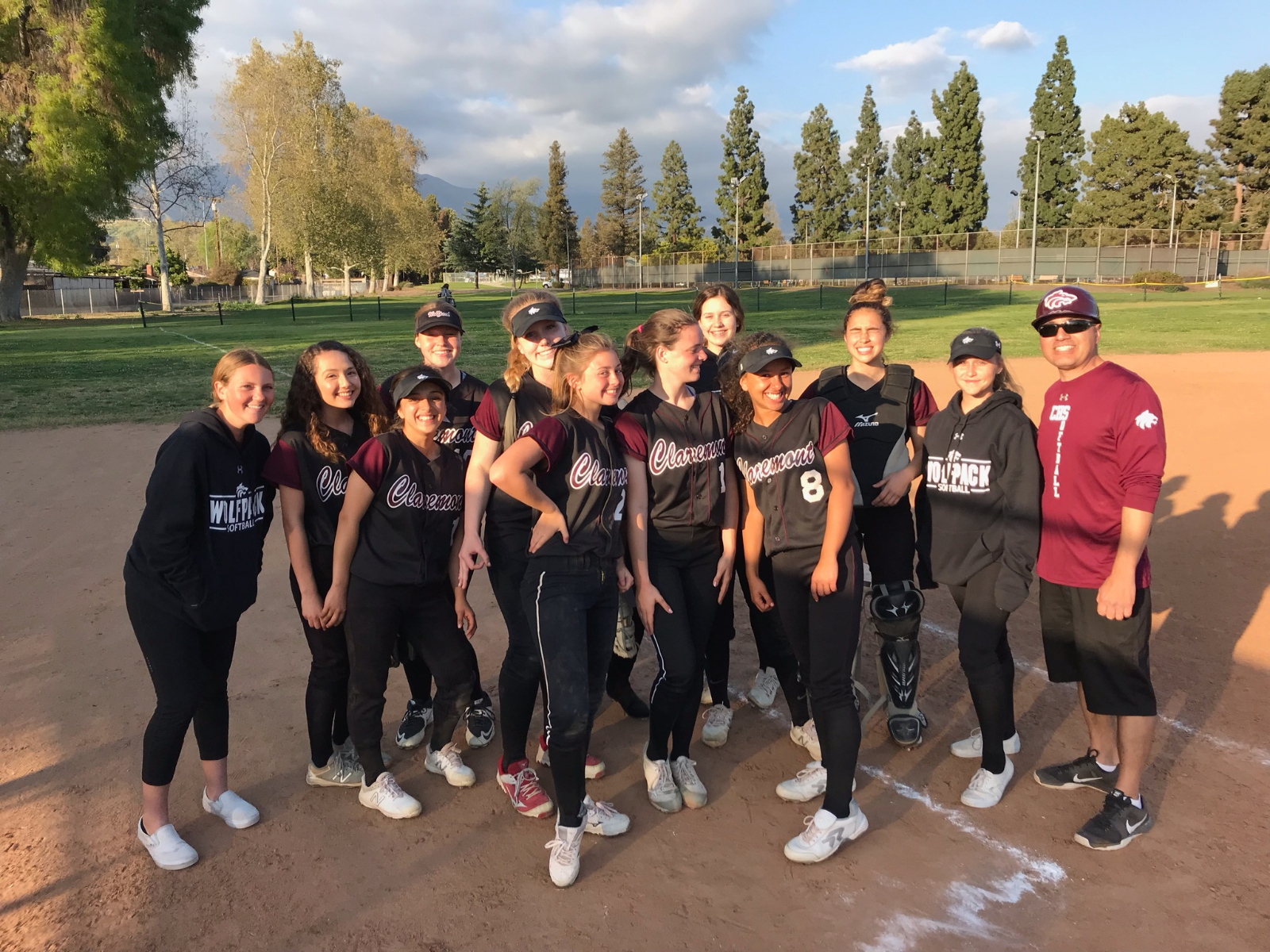 JV Softball Grabs Lead In Seventh Inning For Victory Over Bonita !!